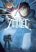 Amulet T2 : La malédiction du gardien de la pierre (0), comics chez Akileos de Kibuishi