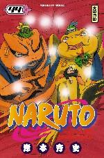 Naruto T44, manga chez Kana de Kishimoto
