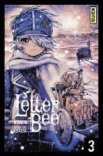 Letter bee T3, manga chez Kana de Asada