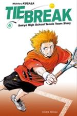 Tie break T4, manga chez Soleil de Kusaba