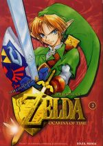 The legend of Zelda - Ocarina of time – 1e édition, T2, manga chez Soleil de Himekawa