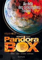 Pandora Box T2, bd chez Dupuis de Alcante, Pagot, Juszezak, Henriet, Damour, Araldi, Usagi