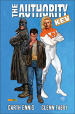 The Authority (ancienne édition) T1 : Kev - More Kev (0), comics chez Panini Comics de Ennis, Fabry, Baron