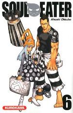 Soul eater T6, manga chez Kurokawa de Ohkubo