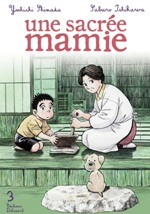 Une sacrée mamie T3, manga chez Delcourt de Shimada, Ishikawa