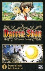 Darren shan  T1, manga chez Pika de Darren, Arai