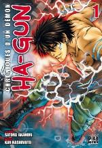 Ha-Gun - Chroniques d'un démon T1, manga chez Pika de Akahori, Hashimoto