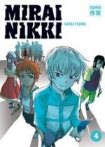 Mirai Nikki T4, manga chez Casterman de Esuno