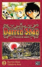 Darren shan  T2, manga chez Pika de Darren, Arai
