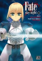 Fate stay night T1, manga chez Pika de Type-moon, Nishiwaki