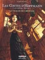 Les contes d'Hoffmann T1 : Le violon de Crémone (0), bd chez Delcourt de Redolfi