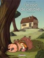 Un coin de ciel bleu T1 : L'odeur du foin (0), bd chez Delcourt de Jarry, Deplano, Fabris