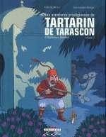 Les Aventures prodigieuses de tartarin de Tarascon, d'Alphonse Daudet T2, bd chez Delcourt de Rouger, Merlet