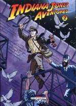 Indiana Jones Aventures T2, comics chez Delcourt de Beavers, Pattison