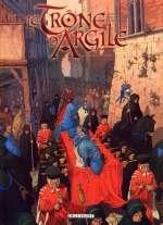 Le trône d'argile T4 : La Mort des Rois (0), bd chez Delcourt de Richemond, Jarry, Caneshi, Pieri