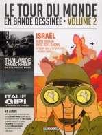 Le tour du monde en bande-dessinée T2, bd chez Delcourt de Gipi, Collectif
