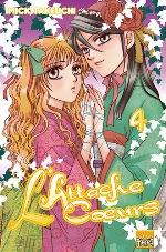 L'attache coeurs T4, manga chez Taïfu comics de Takeuchi