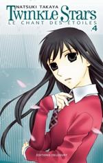 Twinkle stars T4, manga chez Delcourt de Takaya