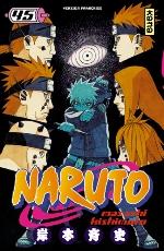 Naruto T45, manga chez Kana de Kishimoto