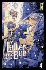 Letter bee T4, manga chez Kana de Asada