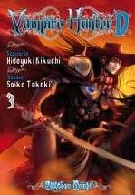 Vampire Hunter D T3, manga chez Asuka de Kikuchi, Takaki