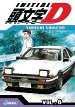 Initial D T6, manga chez Asuka de Shigeno
