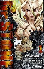 Dr Stone T1, manga chez Glénat de Inagaki, Boichi