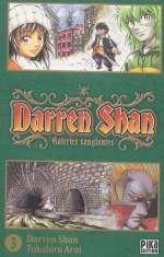 Darren shan  T3, manga chez Pika de Darren, Arai