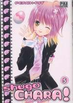 Shugo chara – Edition simple, T5, manga chez Pika de Peach-Pit