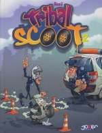 Tribal scoot T2, bd chez Joker de Hemji