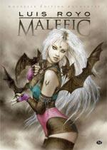 Malefic, comics chez Milady Graphics de Royo