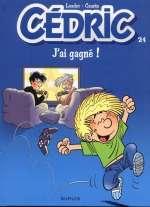 Cédric T24 : J'ai gagné (0), bd chez Dupuis de Cauvin, Laudec, Léonardo