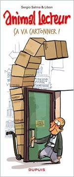 Animal lecteur T1 : Ça va cartonner (0), bd chez Dupuis de Salma, Libon