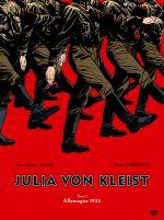 Julia Von Kleist T1 : Allemagne 1932 (0), bd chez EP Editions de Djian, Marivain, Tumelaire