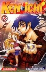 Ken-Ichi – Le disciple ultime 1, T13, manga chez Kurokawa de Matsuena