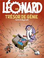 Léonard T40 : Trésor de génie (0), bd chez Le Lombard de de Groot, Turk