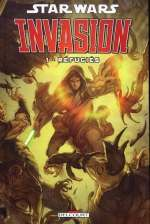 Star Wars (revue) – Invasion, T1 : Réfugiés (0), comics chez Delcourt de Taylor, Wilson, Dzioba, Chen