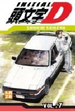 Initial D T7, manga chez Kazé manga de Shigeno