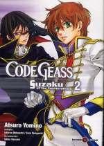 Code Geass - Suzaku of the Counterattack T2, manga chez Tonkam de Hasumi, Taniguchi, Ohkouchi, Yomino