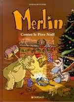 Merlin T2 : Merlin contre le père Noël (0), bd chez Dargaud de Sfar, Munuera