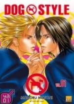 Dog style  T1, manga chez Taïfu comics de Motoni