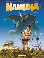 Namibia T1, bd chez Dargaud de Rodolphe, Léo, Marchal