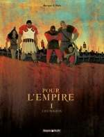 Pour l'empire T1 : L'honneur (0), bd chez Dargaud de Vivès, Merwan, Desmazières
