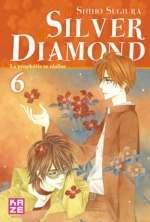 Silver diamond T6, manga chez Kazé manga de Sugiura