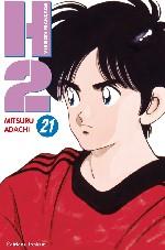 H2 T21, manga chez Tonkam de Adachi