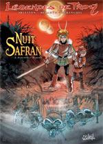 Nuit safran T1 : Albumen l'éthéré (0), bd chez Soleil de Melanÿn, Arleston, Hérenguel
