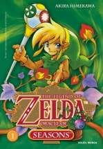 The legend of Zelda - Oracle Of Seasons, manga chez Soleil de Himekawa