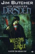 Les dossiers Dresden : Welcome to the jungle, comics chez Milady Graphics de Butcher, Syaf, Digikore studio, McGrath
