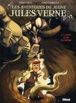 Les aventures du jeune Jules Verne T1 : La porte entre les mondes (0), bd chez Glénat de Garcia, Rodriguez