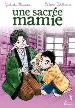 Une sacrée mamie T5, manga chez Delcourt de Shimada, Ishikawa